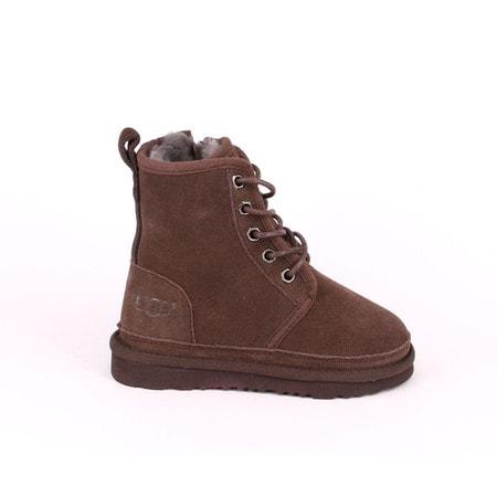 Ботинки UGG Kids Harkley Boots Chocolate