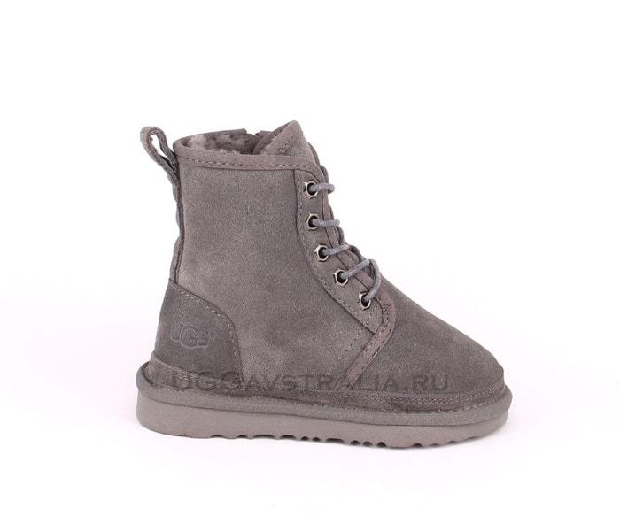 Детские ботинки UGG Kids Harkley Boots Grey