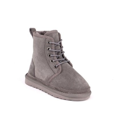 Ботинки UGG Kids Harkley Boots Grey