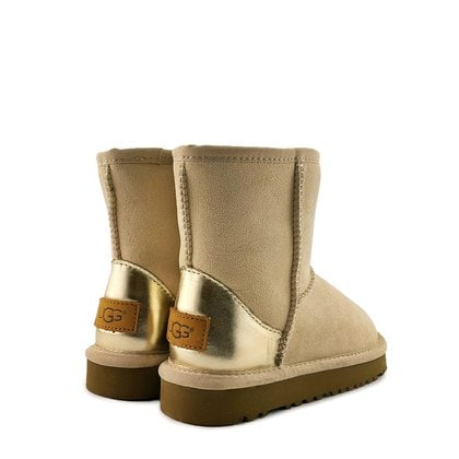Угги UGG Kids Classic Short II Metallic Slate
