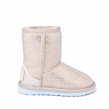 Угги UGG Kids Classic Short Serein II I Do White