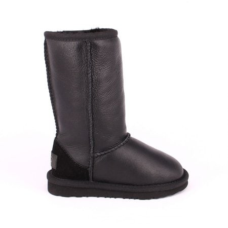 Угги UGG Kids Classic Tall Metallic Black