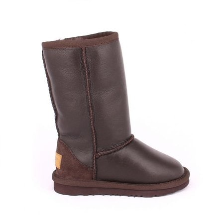 Угги UGG Kids Classic Tall Metallic Chocolate