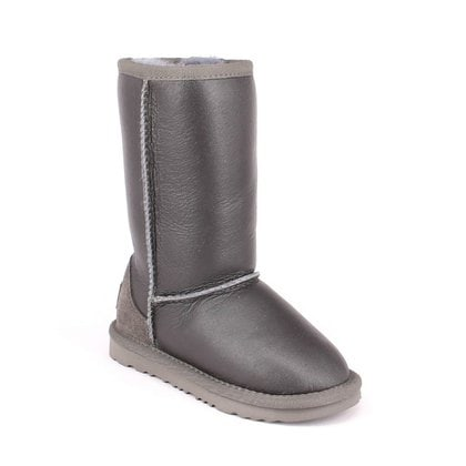 Угги UGG Kids Classic Tall Metallic Grey
