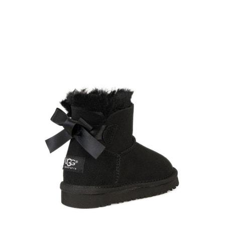 Угги UGG Kids Mini Bailey Bow II Black