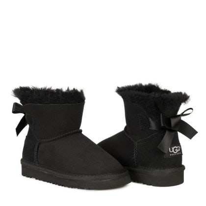 Угги UGG Kids Mini Bailey Bow II Black