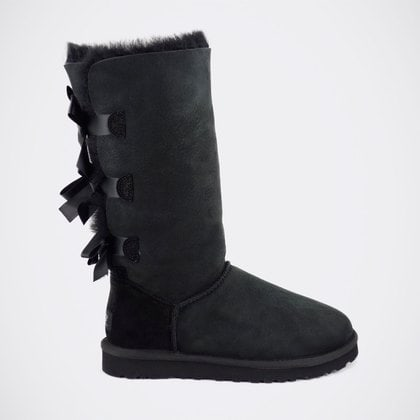 Угги UGG Bailey Bow Tall Black