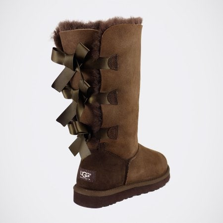 Угги UGG Bailey Bow Tall Chocolate