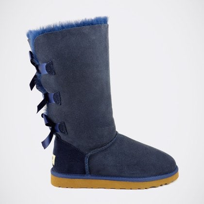 Угги UGG Bailey Bow Tall Navy