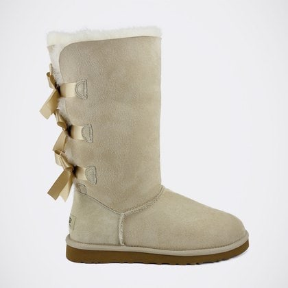 Угги UGG Bailey Bow Tall Sand