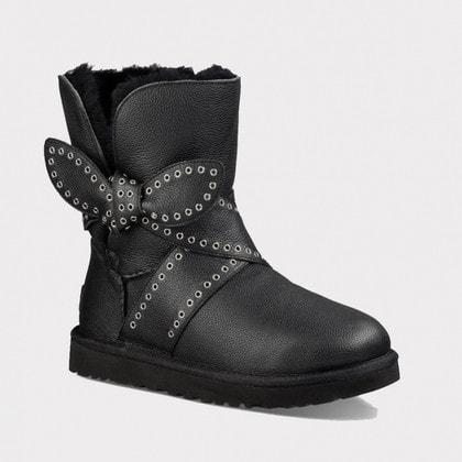 Угги UGG Mabel Leather Black