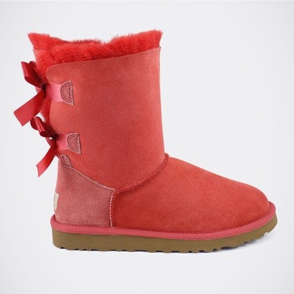 Угги UGG Bailey Bow Red