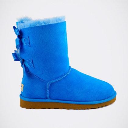 Угги UGG Bailey Bow Blue
