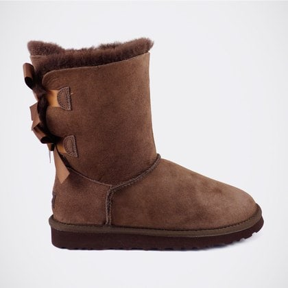 Угги UGG Bailey Bow Chocolate