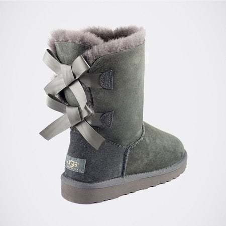 Угги UGG Bailey Bow Grey