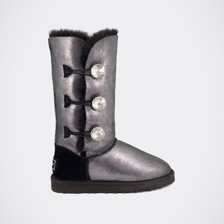 Угги UGG Bailey Bling Triplet Glitter Black