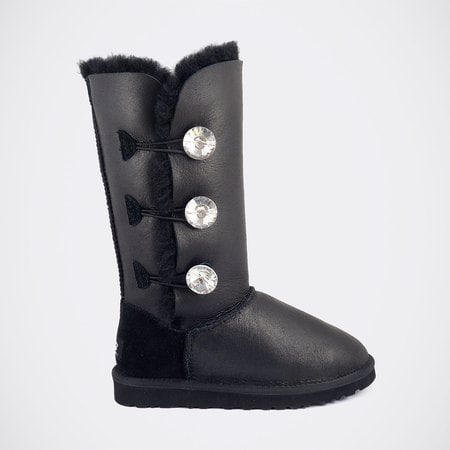 Угги UGG Bailey Bling Triplet Metallic Black