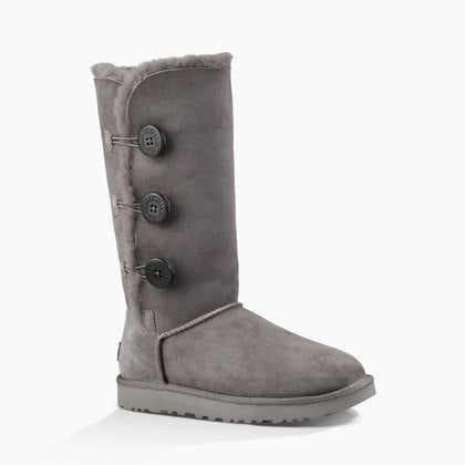 Угги UGG Bailey Button Triplet II Grey