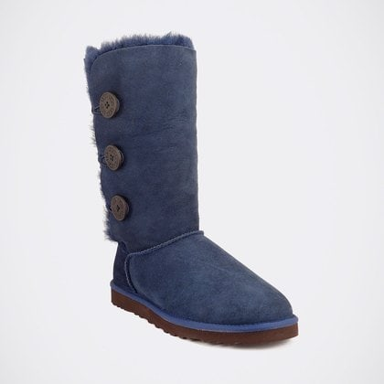 Угги UGG Bailey Button Triplet Navy