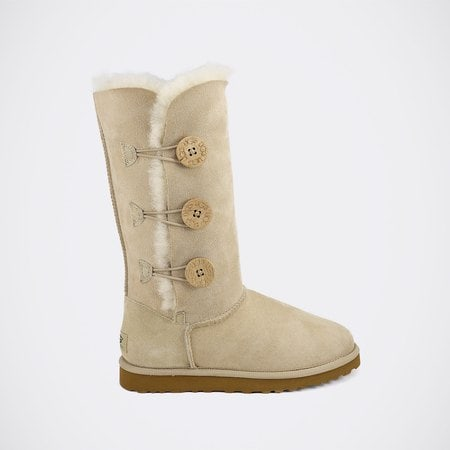 Угги UGG Bailey Button Triplet Sand