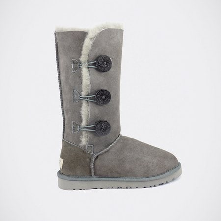 Угги UGG Bailey Button Triplet Grey