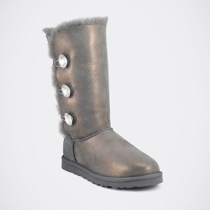 Угги UGG Bailey Bling Triplet Glitter Grey