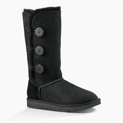 Угги UGG Bailey Button Triplet II Black