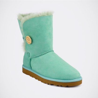 Угги UGG Bailey Button Aqua