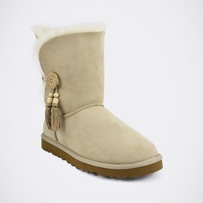 Угги UGG Bailey Button Charm Sand