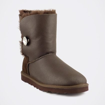 Угги UGG Bailey Bling Metallic Chocolate