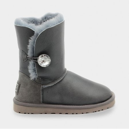 Угги UGG Bailey Bling Metallic Grey