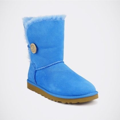 Угги UGG Bailey Button Blue