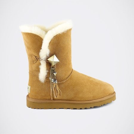 Угги UGG Bailey Button Lilou Chestnut