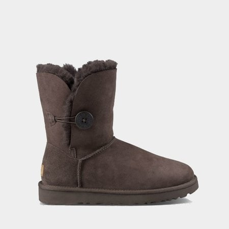 Угги UGG Bailey Button II Chocolate