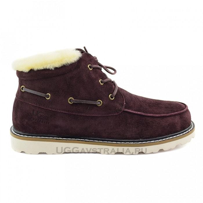 Мужские ботинки UGG Mens Ailen Boots Chocolate
