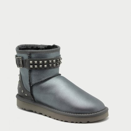 Угги UGG Neva Deco Studs Metallic Grey