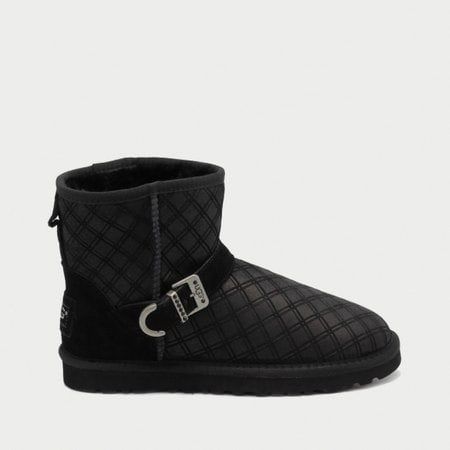 Угги UGG Marilu Double Diamond Black