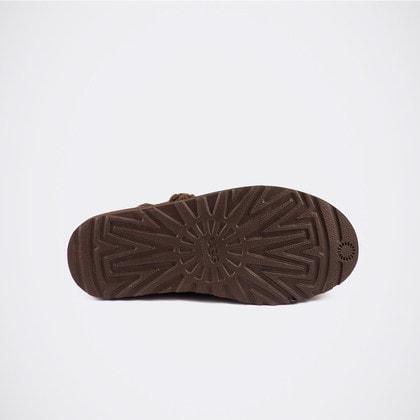 Угги UGG Classic Argyle Knit Chocolate