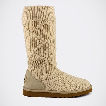 Угги UGG Classic Argyle Knit Cream