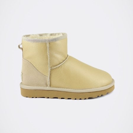 Угги UGG Classic Mini Metallic Sand