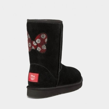 Угги UGG Classic Short Minnie Crystal Black