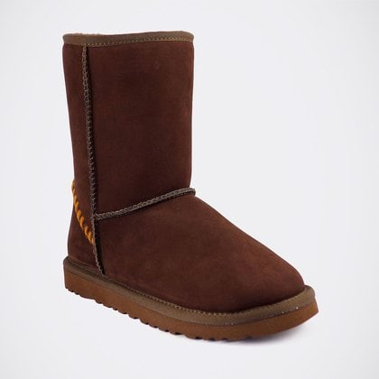 Угги UGG Classic Short Deco Chocolate