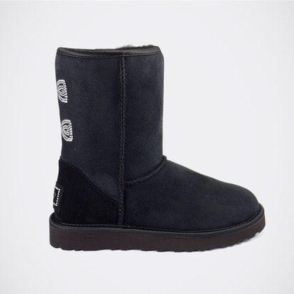 Угги UGG Crystal Bow Black