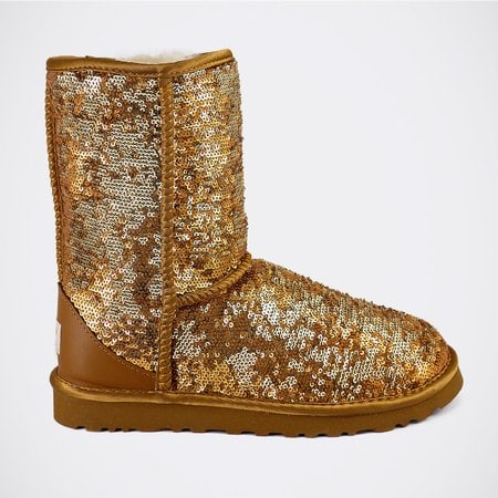 Угги UGG Classic Short Sparkles Camo Brown