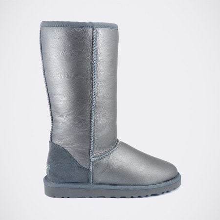 Угги UGG Classic Tall Metallic Grey