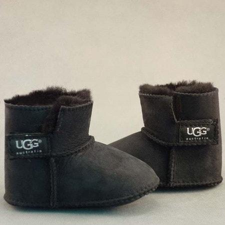 Пинетки UGG Infants Erin Black