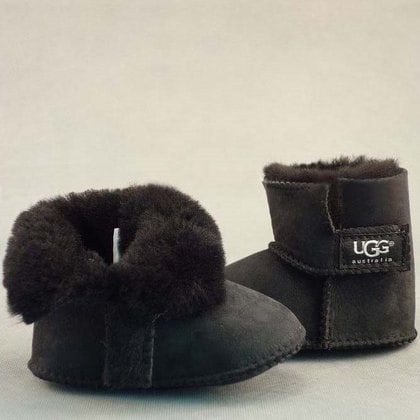 Пинетки UGG Infants Erin Black