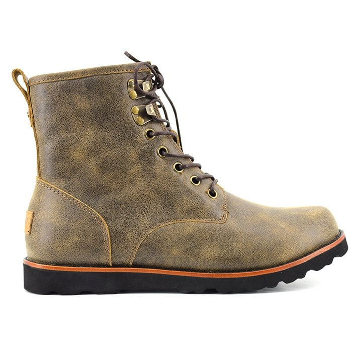 Мужские ботинки UGG Mens Hannen Leather Grizzly