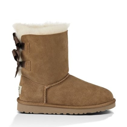 Угги UGG Kids Bailey Bow Chestnut