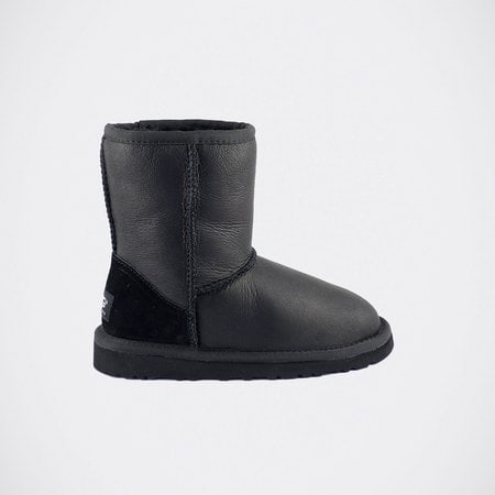 Угги UGG Kids Classic Short Metallic Black